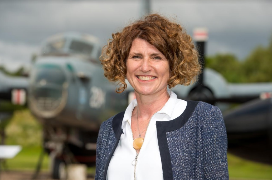 Image of  RAF Museum CEO Maggie Appleton