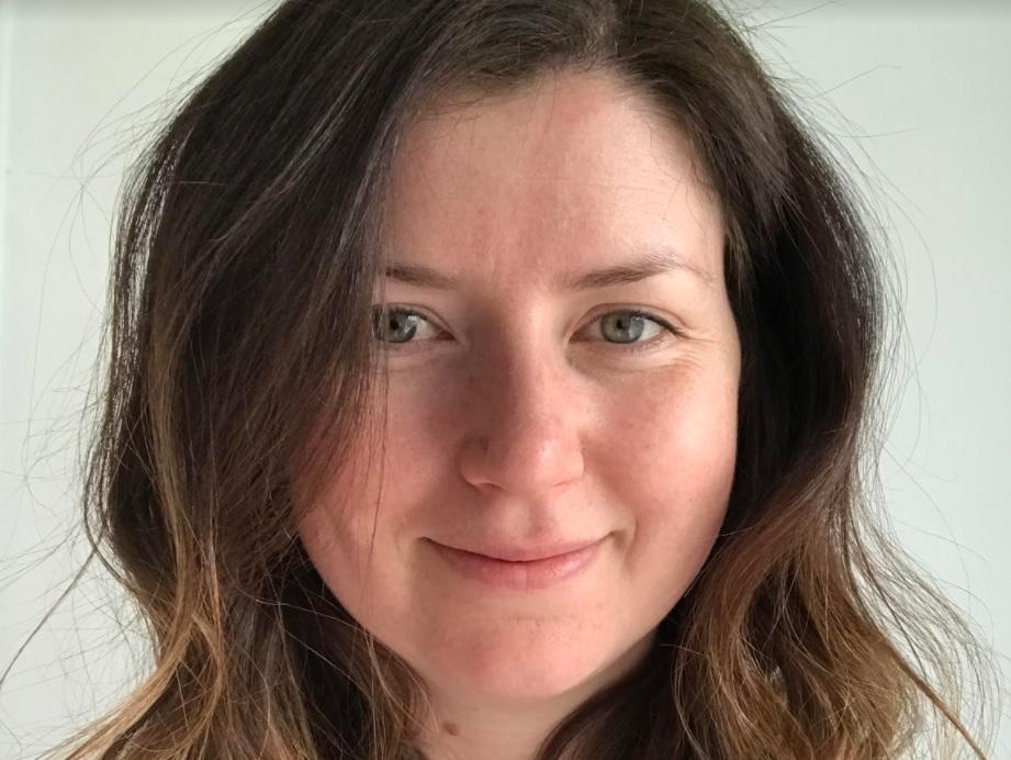 Headshot of Sally Falvey